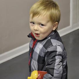 Little Cutie by Terry Linton - Babies & Children Child Portraits