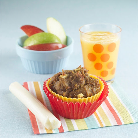 Applesauce-Filled Carrot Muffins