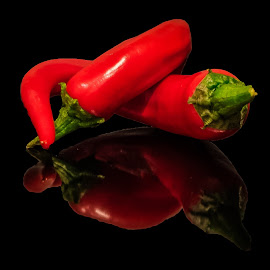 Homegrown chili by Terje Jorgensen - Food & Drink Fruits & Vegetables