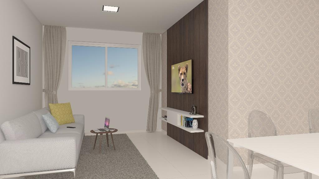 Apartamento residencial à venda, Areia Dourada, Cabedelo - AP5433.