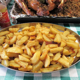 Fried Potatoes by Florante Lamando - Food & Drink Eating