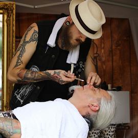 by Noel Kapica - People Body Art/Tattoos