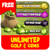 Free free gems for clash of clans prank! APK for Windows 8