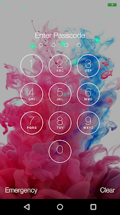 Lock Screen LG G4 Theme - screenshot
