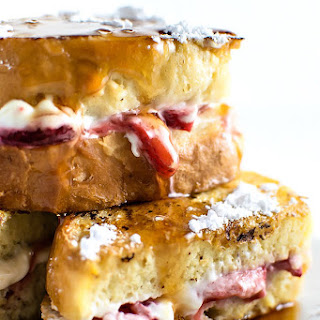 Classic Strawberry Stuffed French Toast