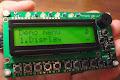 Serial 16X2 LCD keypad panel - Phi-panel