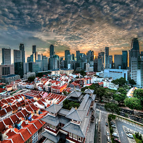 good morning city by Max Ooi - City,  Street & Park  Skylines