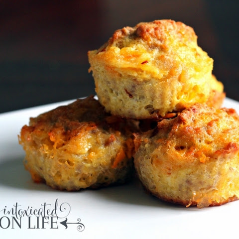 Grain-Free Sausage & Cheese Biscuits