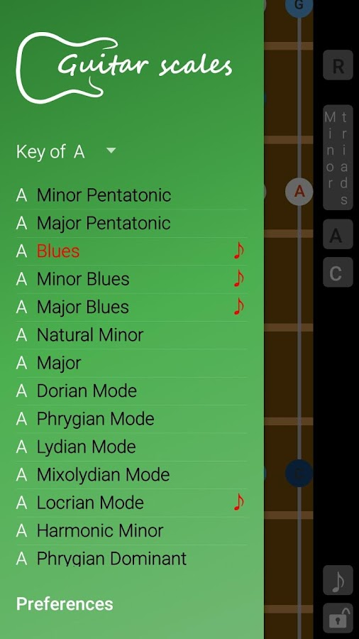 Guitar Scales & Patterns Screenshot 0