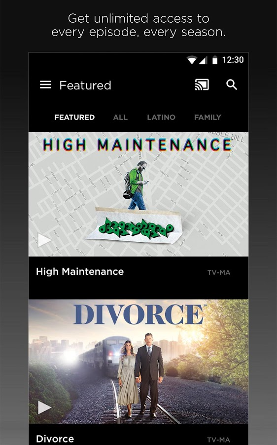 HBO GO Screenshot 1