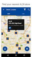 Screenshot of ALDI UK