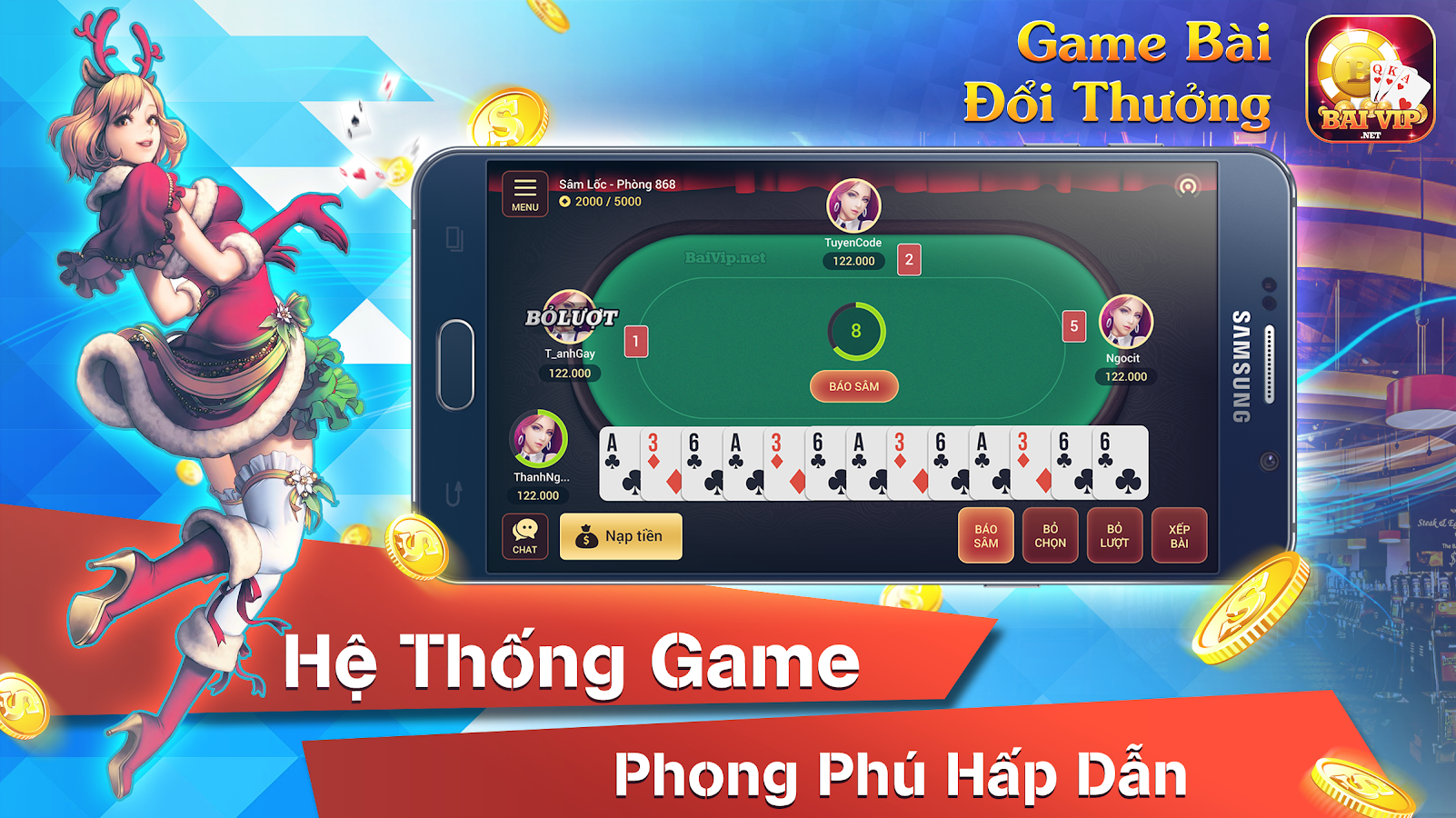 BaiVip - Game danh bai online Screenshot 6