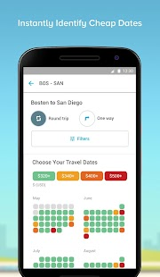Hopper - Watch & Book Flights Screenshot