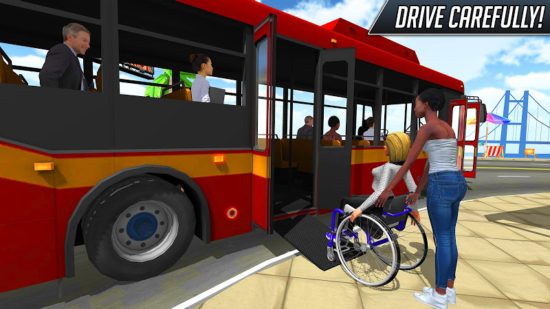 Bus Simulator 2018: City Driving Screenshot 3