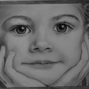 by Patricia Tracy - Drawing All Drawing ( pencil, graphite, girl, drawing )
