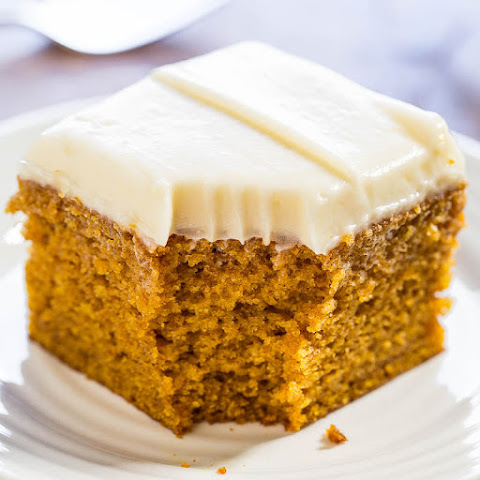 Easy Pumpkin Spice Cake with Cream Cheese Frosting