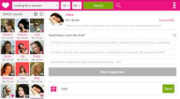 Screenshot of Date-me – free dating app