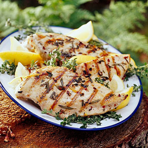 Grilled Lemon-Herb Chicken