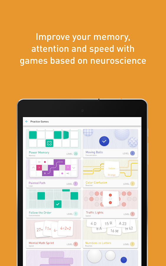 Memorado - Brain Games Screenshot 16