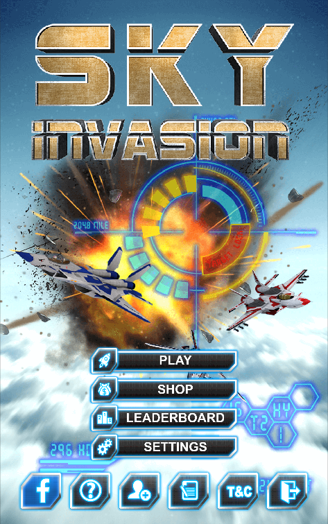 Sky Invasion Screenshot 1