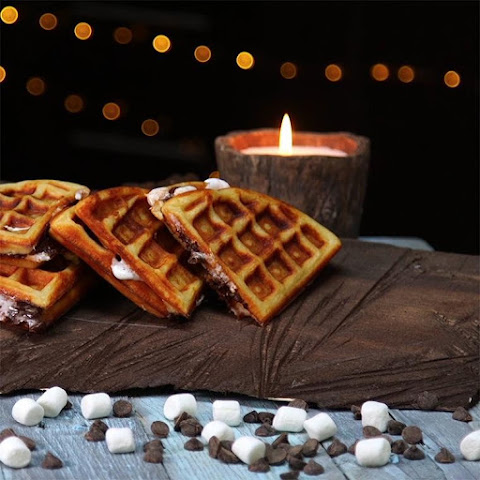 This S'mores Waffle Sandwich is (Almost) Too Good To Be True