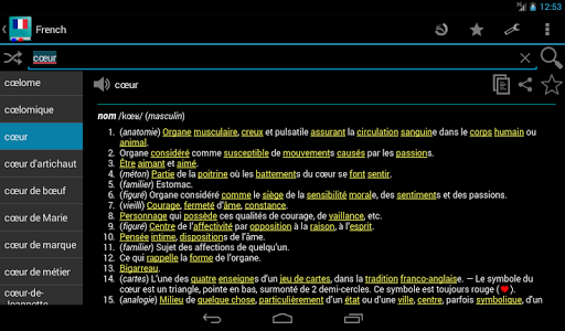 French Dictionary - Offline screenshot 16