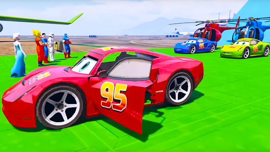 Superheroes Fast Highway Racing Challenges for pc