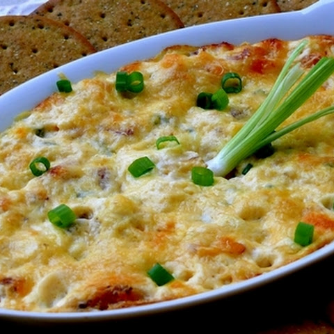 Baked Crab and Almond Dip