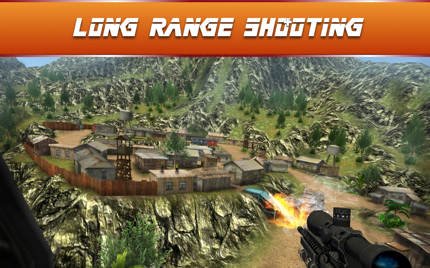Sniper Ops - 3D Shooting Game Screenshot 3