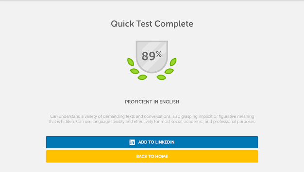 Duolingo English Test APK screenshot thumbnail 8