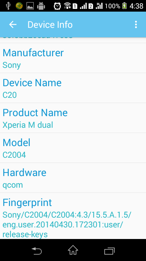 Device ID Changer Pro [ADIC] Screenshot 4
