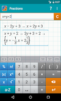 Screenshot of Fraction Calculator MathlabPRO