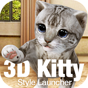 Cute Kitty 3D Live Wallpaper & Launcher For PC / Windows 7/8/10 / Mac – Free Download
