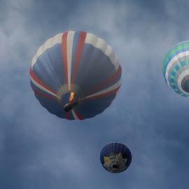 albuquerque balloon fiesta 2016 by Victor Orazi - Transportation Other