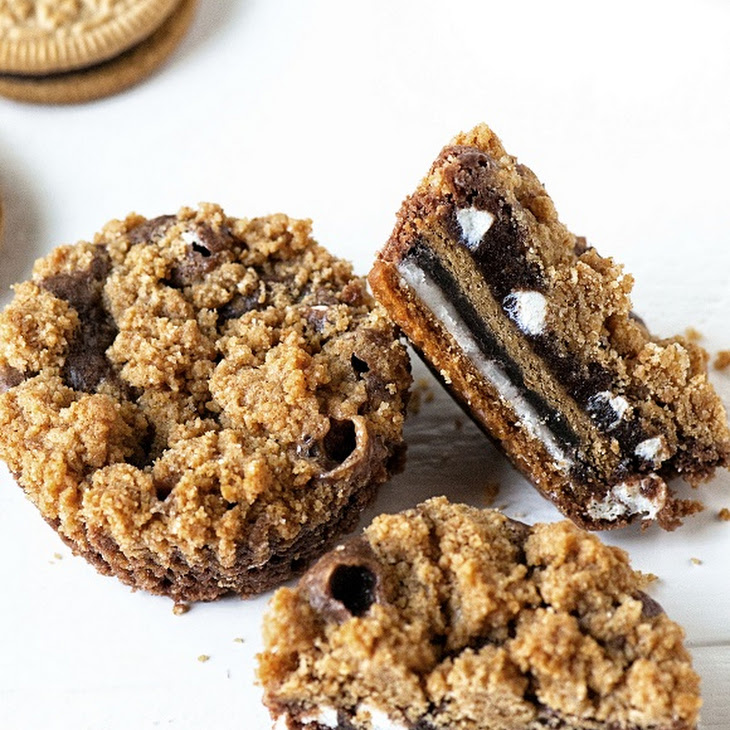 mores Oreo Cookie Cups Recipe | Yummly