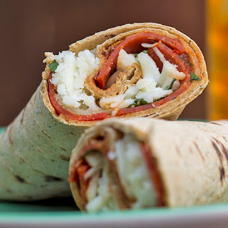 Skinny Pizza Wrap