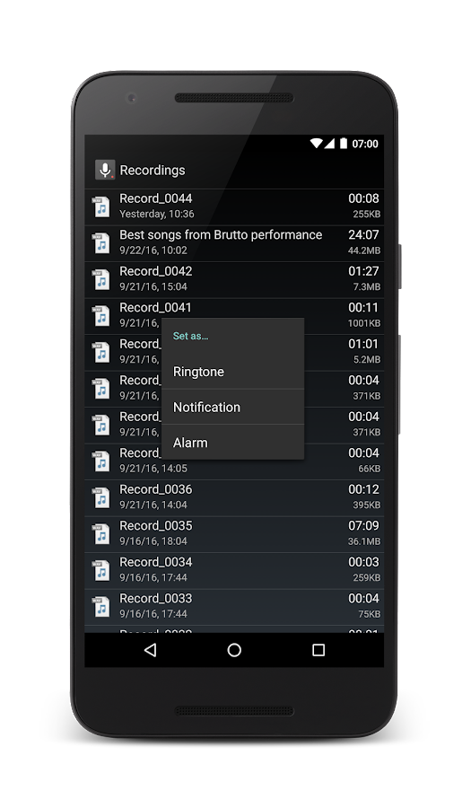 Smart Voice Recorder Screenshot 3