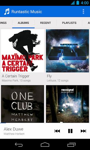 Runtastic Music screenshot 1