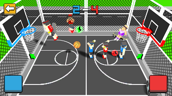 Game Cubic Basketball 3D APK for Kindle