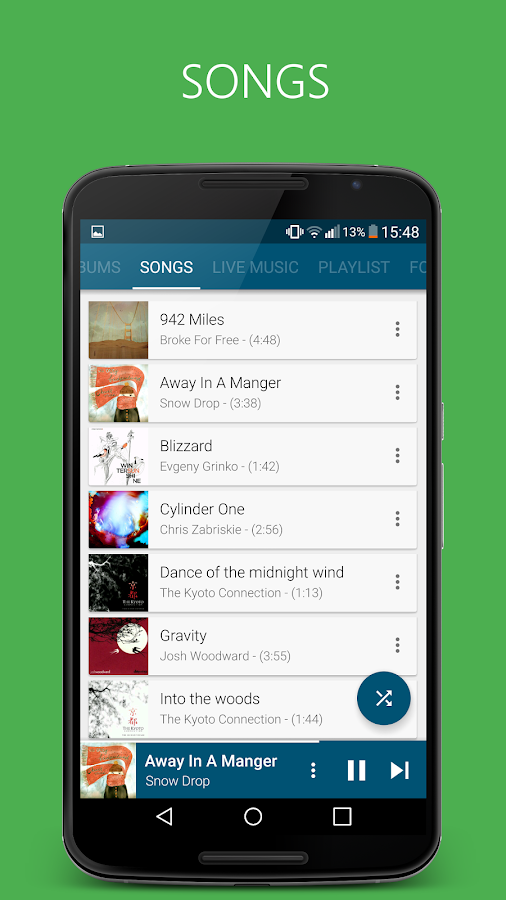 Pixel+ Music Player Screenshot 2