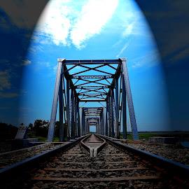 by Rita Chakrabarty - Transportation Railway Tracks