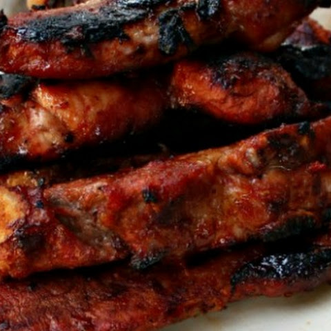 Sweet N' Spicy Drunken Ribs