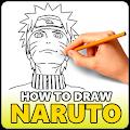 How to Draw Naruto Boruto Anime APK for Bluestacks