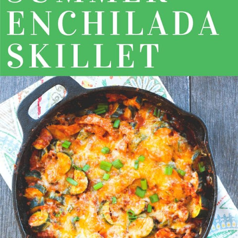 20 Minute Summer Enchilada Skillet