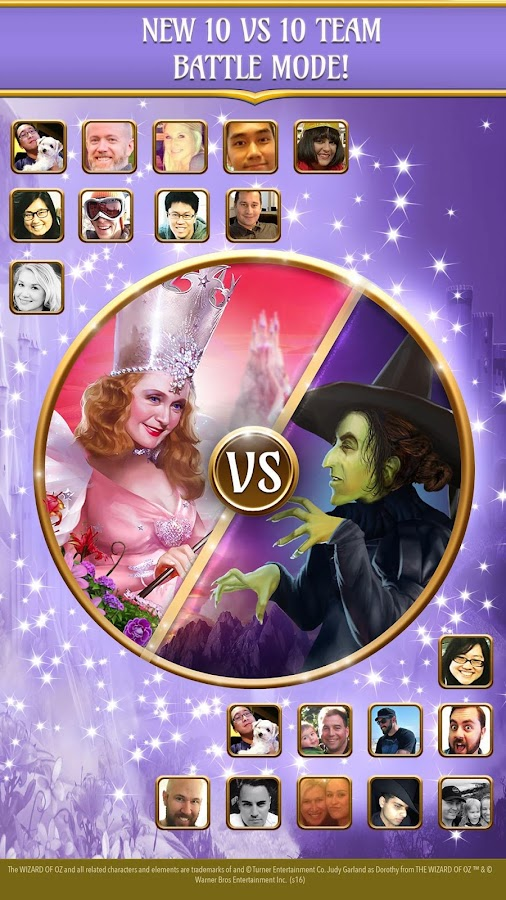 Wizard of Oz: Magic Match Screenshot 1