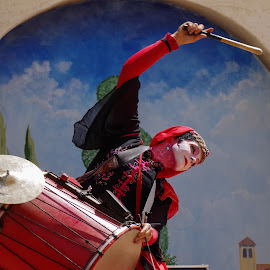 Arizona Renaissance Festival by Ken Mickel - People Musicians & Entertainers