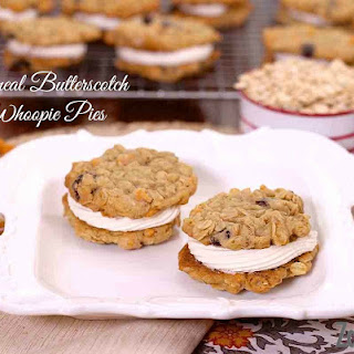 Oatmeal Butterscotch Whoopie Pies