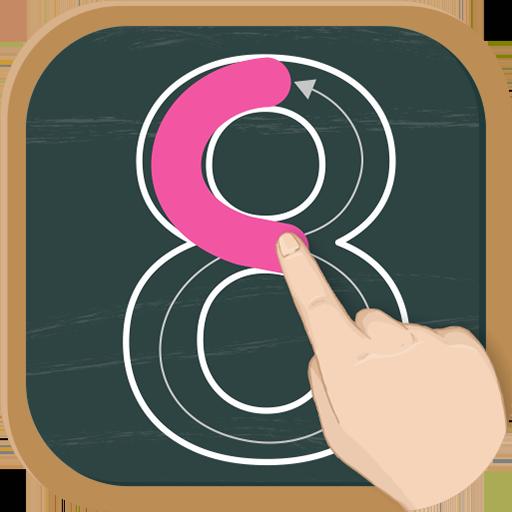 Write Numbers: Tracing 123 - German (app)