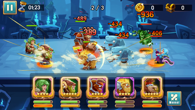 We Heroes - Born To Fight APK screenshot thumbnail 14