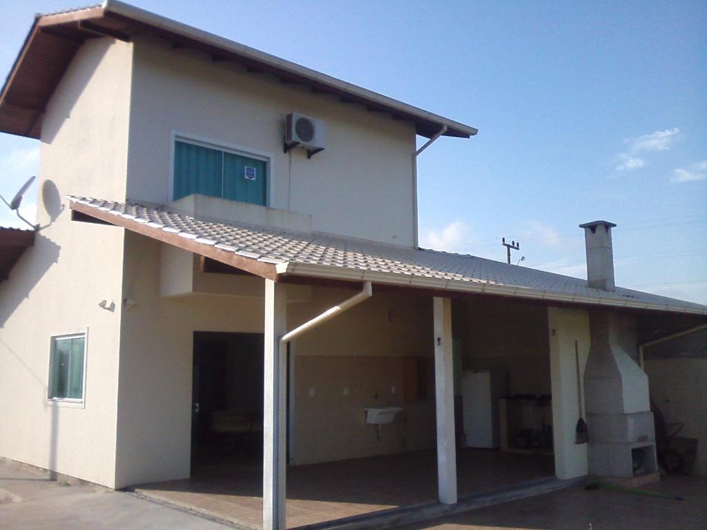 Casa 3 Dorm, Praia do Sonho (ens Brito), Palhoca (CA0486)